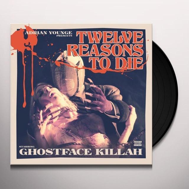 Ghostface Killah 12 REASONS TO DIE Vinyl Record