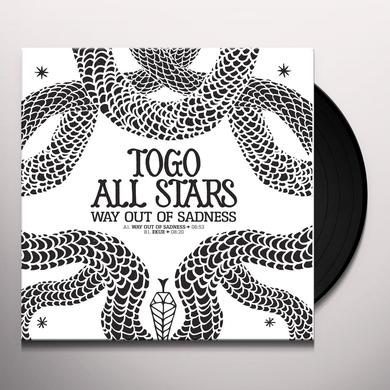 TOGO ALL STARS WAY OUT OF SADNESS Vinyl Record