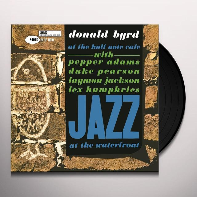 Donald Byrd AT THE HALF NOTE CAFE 1 Vinyl Record