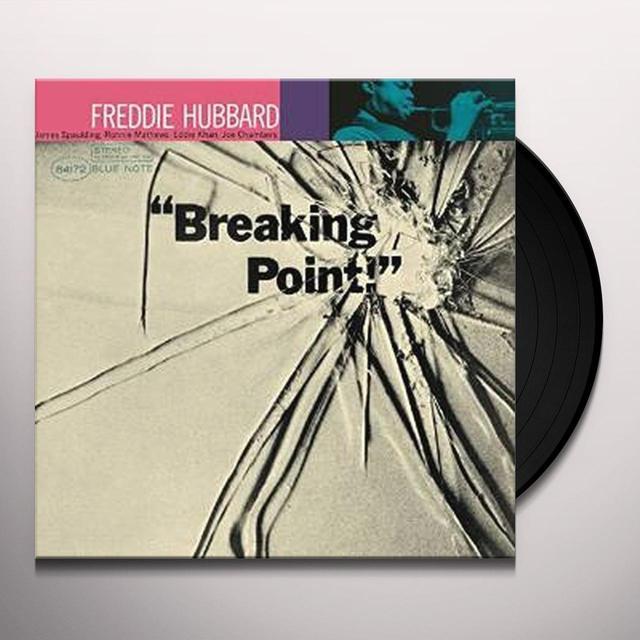 Freddie Hubbard BREAKING POINT Vinyl Record