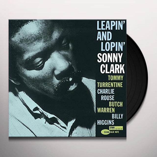 Sonny Clark LEAPIN & LOPIN Vinyl Record