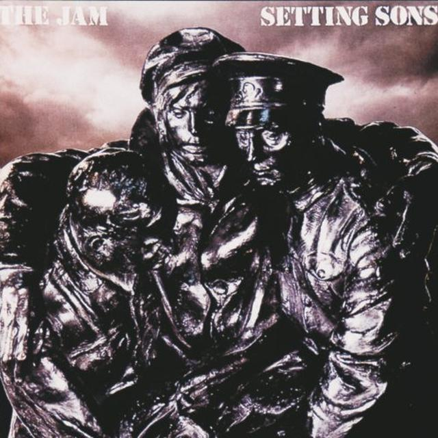 The Jam SETTING SONS Vinyl Record