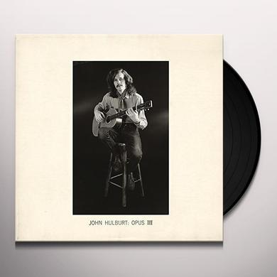 John Hulburt OPUS III Vinyl Record