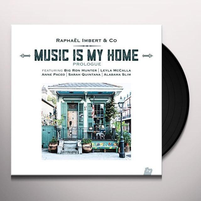Raphaël Imbert MUSIC IS MY HOME PROLOGUE Vinyl Record - 10 Inch Single