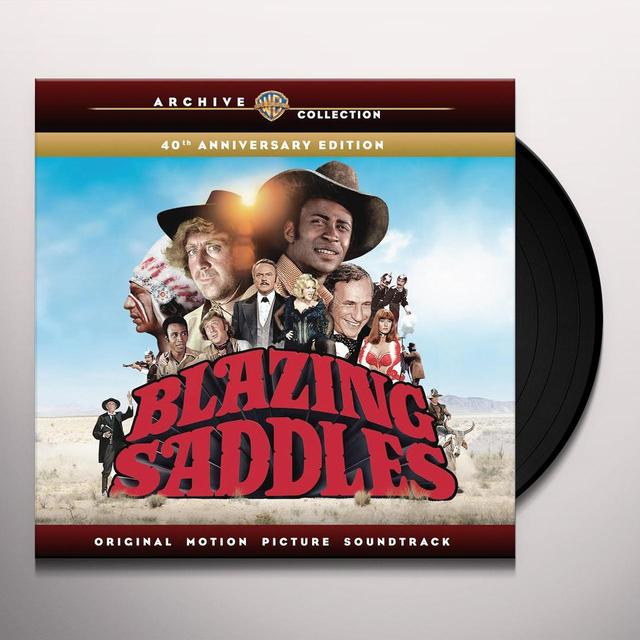 Mel Brooks / John Morris BLAZING SADDLES / O.S.T. Vinyl Record
