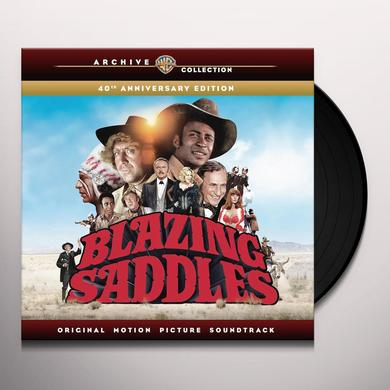 Mel Brooks / John Morris BLAZING SADDLES / O.S.T. Vinyl Record - Black Vinyl, Limited Edition, 180 Gram Pressing