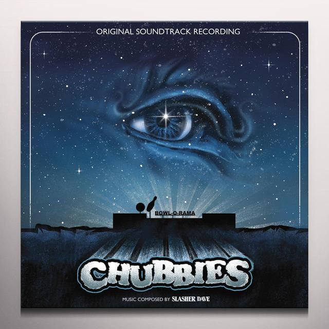 SLASHER DAVE CHUBBIES Vinyl Record - Blue Vinyl, Limited Edition, Poster, Digital Download Included