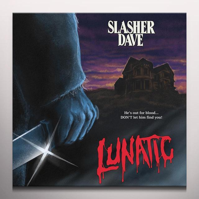 SLASHER DAVE LUNATIC (EP) Vinyl Record - Red Vinyl, Digital Download Included