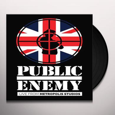 Public Enemy LIVE FROM METROPOLIS STUDIOS Vinyl Record