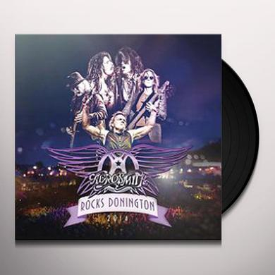 Aerosmith ROCKS DONINGTON 2014 (W/DVD) Vinyl Record - Gatefold Sleeve, Limited Edition