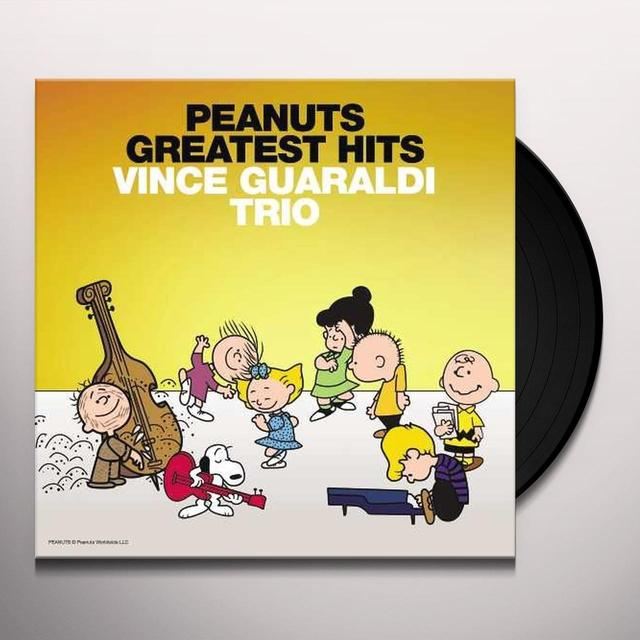 Vince Guaraldi PEANUTS GREATEST HITS Vinyl Record