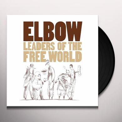 Elbow LEADERS OF THE FREE WORLD Vinyl Record