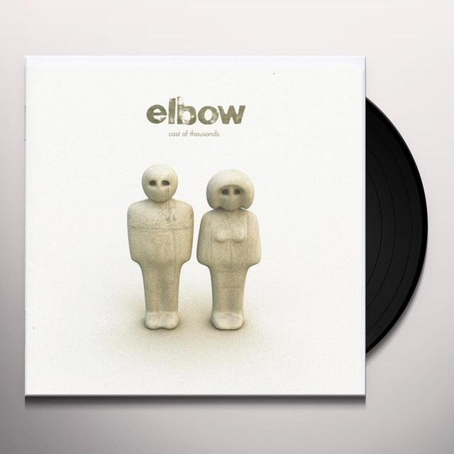 Elbow CAST OF THOUSANDS Vinyl Record