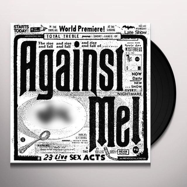 Against Me 23 LIVE SEX ACTS Vinyl Record - Gatefold Sleeve