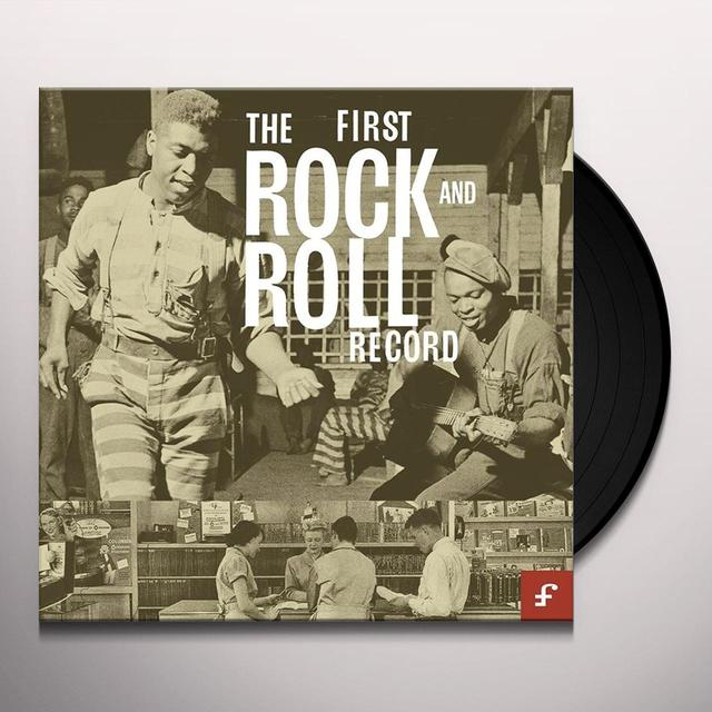 FIRST ROCK & ROLL RECORD / VARIOUS (W/CD) (LTD) FIRST ROCK & ROLL RECORD / VARIOUS Vinyl Record - w/CD, Limited Edition