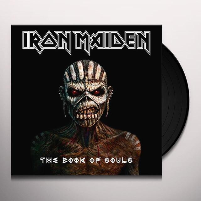 Iron Maiden BOOK OF SOULS Vinyl Record - Gatefold Sleeve