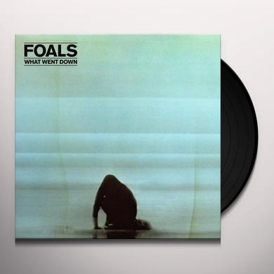 Foals WHAT WENT DOWN Vinyl Record