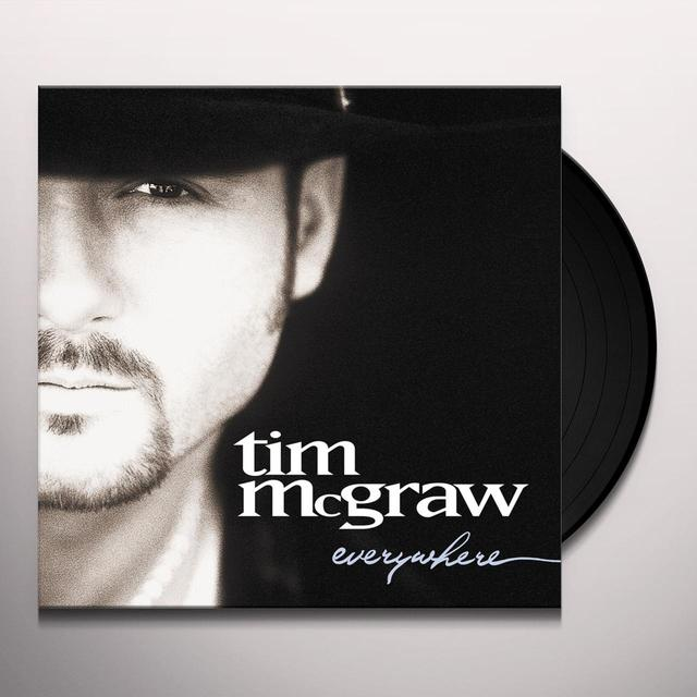Tim McGraw EVERYWHERE Vinyl Record - Digital Download Included