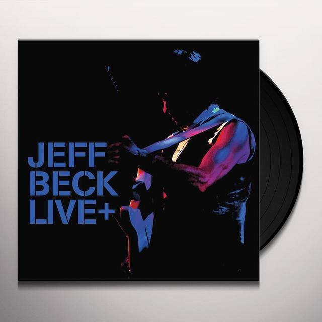 Jeff Beck LIVE + Vinyl Record