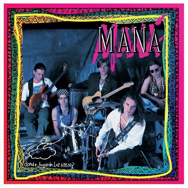 Mana DONDE JUGARAN LOS NINOS Vinyl Record