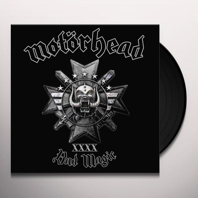 Motorhead BAD MAGIC  (BOX) Vinyl Record - Limited Edition, Deluxe Edition