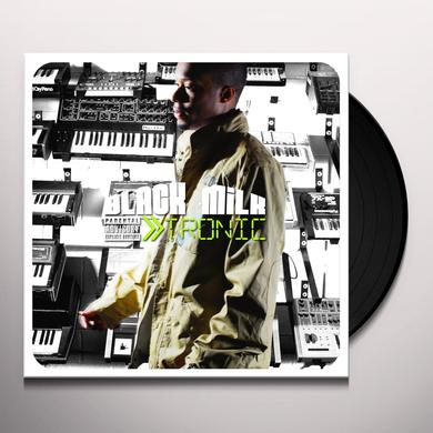Black Milk TRONIC SILVER EDITION Vinyl Record