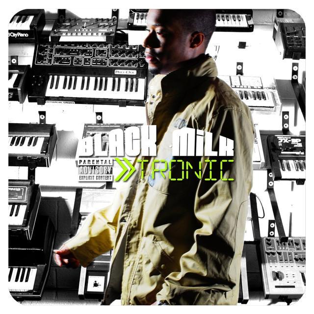 Black Milk TRONIC SILVER EDITION Vinyl Record