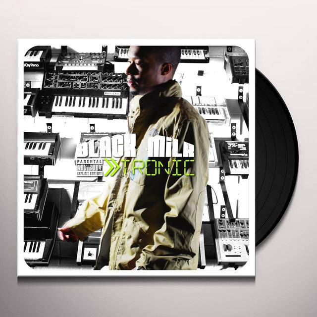 Black Milk TRONIC SILVER EDITION (WSV) Vinyl Record - Deluxe Edition