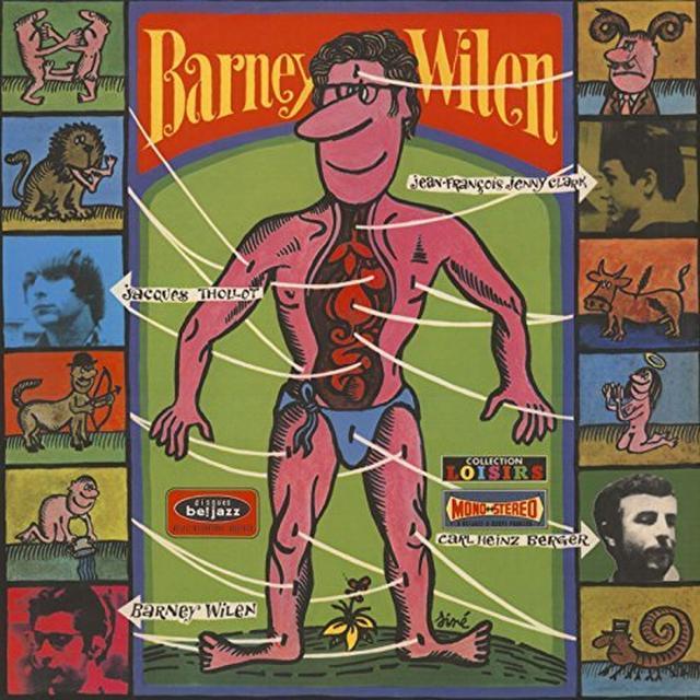 Barney Wilen ZODIAC Vinyl Record - Limited Edition