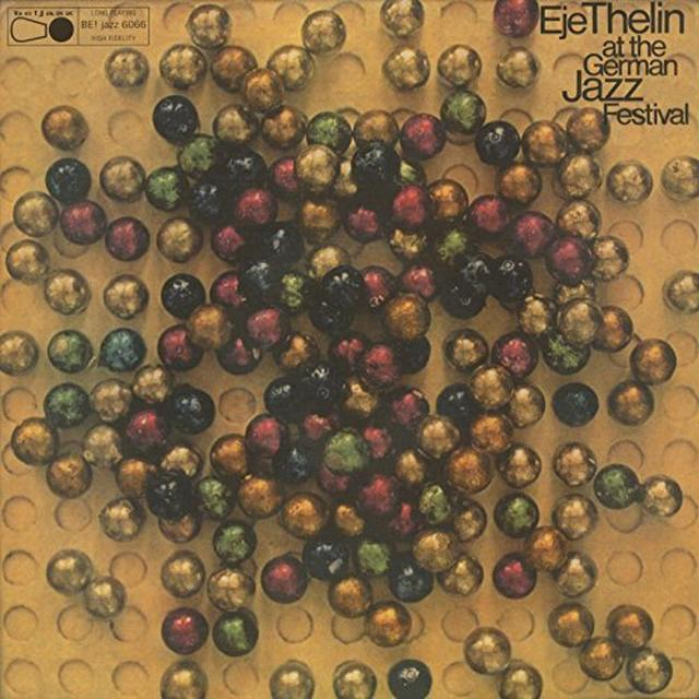 Eje Thelin Quintet AT THE GERMAN JAZZ FESTIVAL Vinyl Record