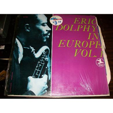Eric Dolphy IN EUROPE Vinyl Record