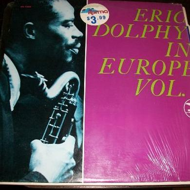 Eric Dolphy IN EUROPE Vinyl Record - Limited Edition