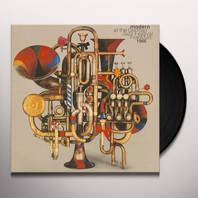 MODERN AT THE GERMAN JAZZ FESTIVAL 1966 / VARIOUS Vinyl Record
