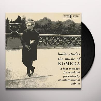 Krysztof Komeda Quartet BALLET ETUDES - MUSIC OF KOMEDA Vinyl Record - Limited Edition