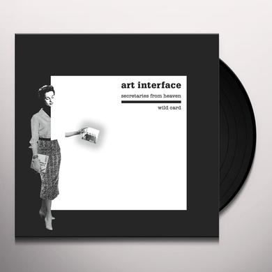 ART INTERFACE SECRETARIES FROM HEAVEN / WILD CARD Vinyl Record