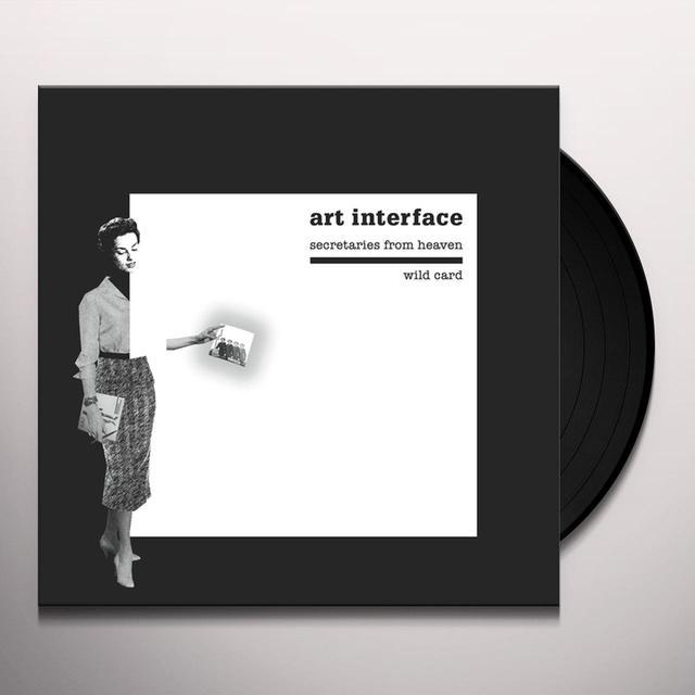 ART INTERFACE SECRETARIES FROM HEAVEN / WILD CARD Vinyl Record