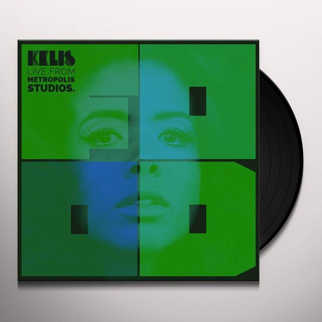 Kelis LIVE FROM THE METROPOLIS STUDIOS Vinyl Record - Holland Import