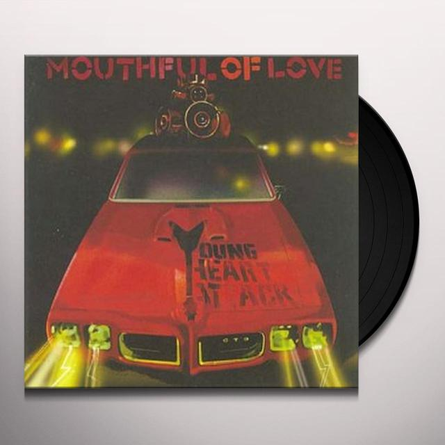 Young Heart Attack MOUTHFUL OF LOVE Vinyl Record