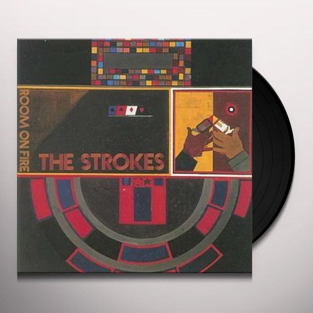 Strokes ROOM ON FIRE Vinyl Record - UK Import
