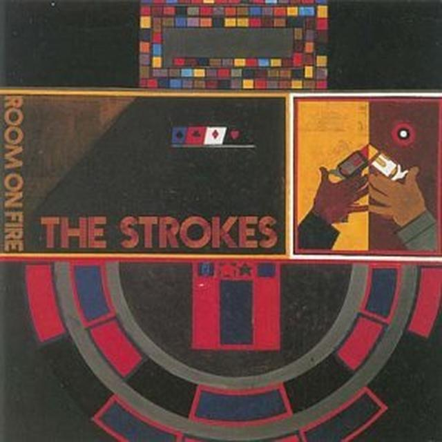 Strokes ROOM ON FIRE Vinyl Record