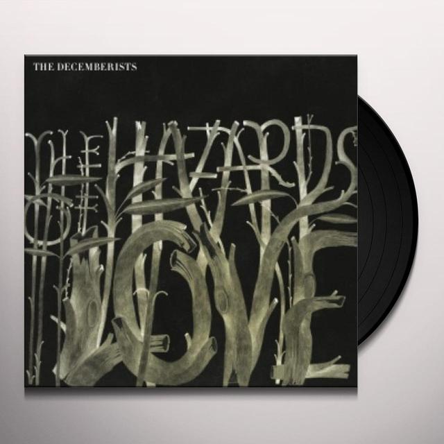 The Decemberists HAZARDS OF LOVE Vinyl Record - UK Release