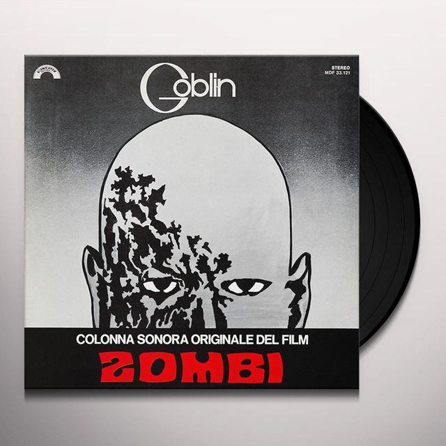 Goblin ZOMBI Vinyl Record - Italy Import
