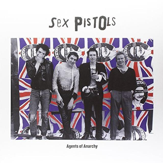 Sex Pistols AGES OF ANARCHY Vinyl Record - Italy Release