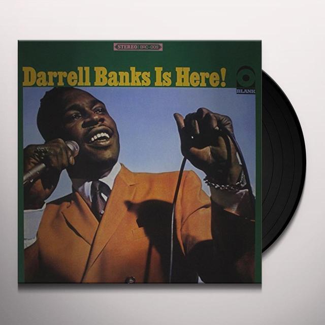 DARRELL BANKS IS HERE Vinyl Record - Australia Import