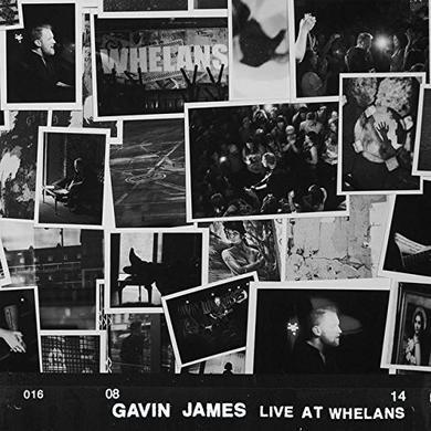 Gavin James LIVE AT WHELANS Vinyl Record