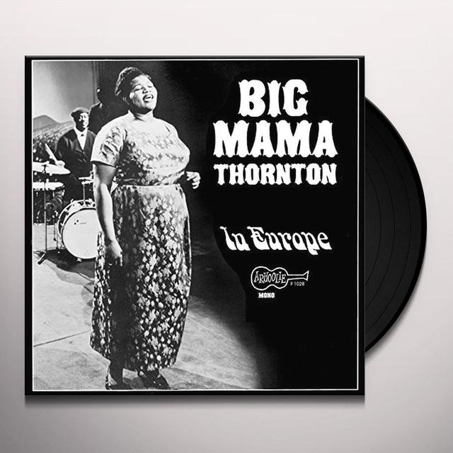 THORNTON BIG MAMA IN EUROPE Vinyl Record - Italy Import