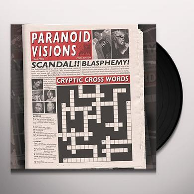 Paranoid Visions CRYPTIC CROSSWORDS Vinyl Record