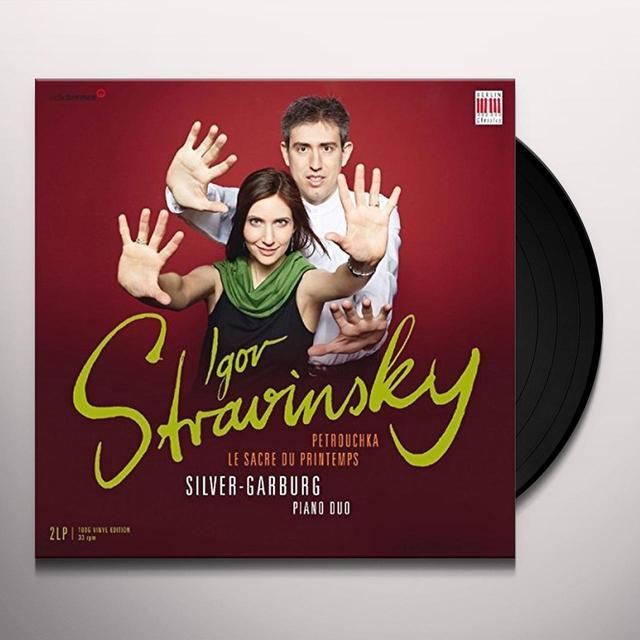 SILVER-GARBURG PIANO DUO STRAVINSKY: PETROUCHKA & SACRE DU PRINTEMPS Vinyl Record - UK Import