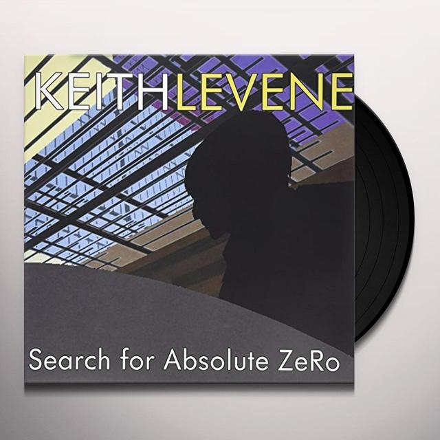 Keith Levene SEARCH FOR ABSOLUTE ZERO Vinyl Record - UK Import