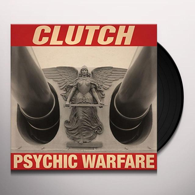 Clutch PSYCHIC WARFARE Vinyl Record - UK Import